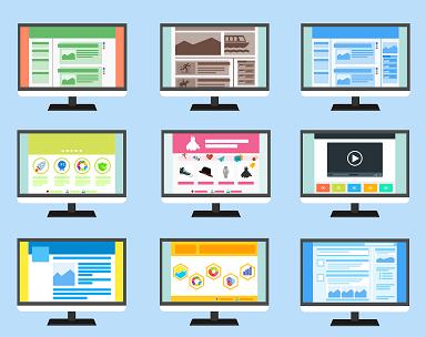 nine cartoon computer for website monitoring