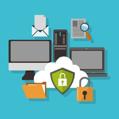 Cyber Security cartoon